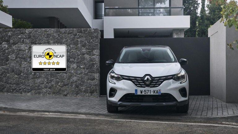 Euro NCAP: Pet zvezdica za novi Renault Captur