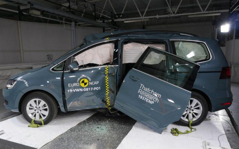 Euro NCAP: Četiri zvezdice za Volkswagen Sharan