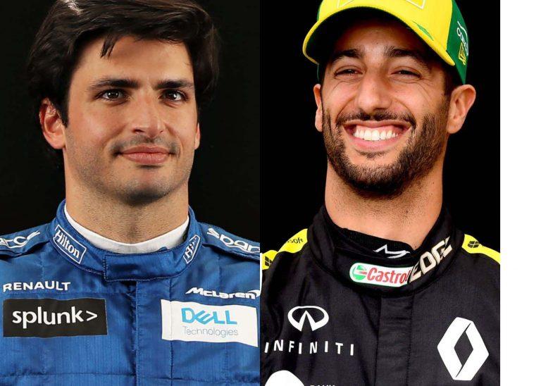 F1: Sainz u Ferrari, Ricciardo u McLaren