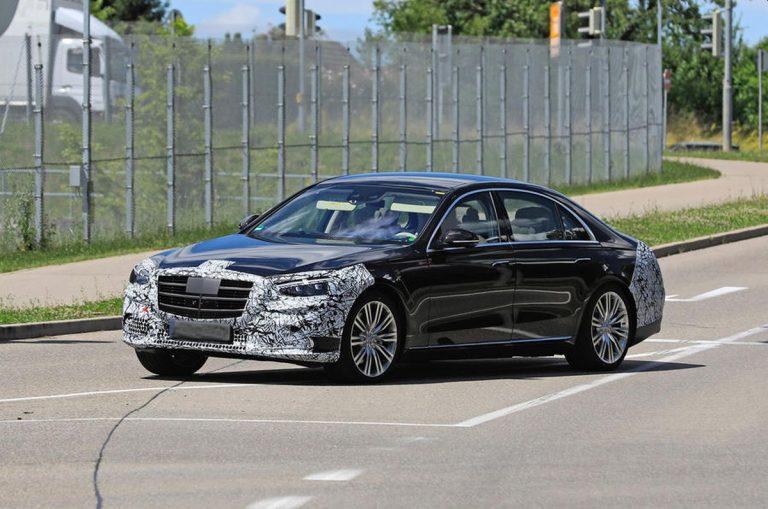Mercedes S klasa – špijunski snimci