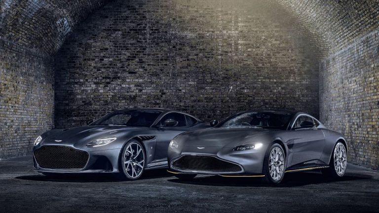 Aston Martin Vantage i DBS Superleggera 007