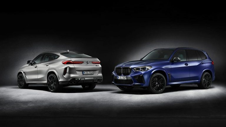 BMW X5 i X6 M Competition First Edition