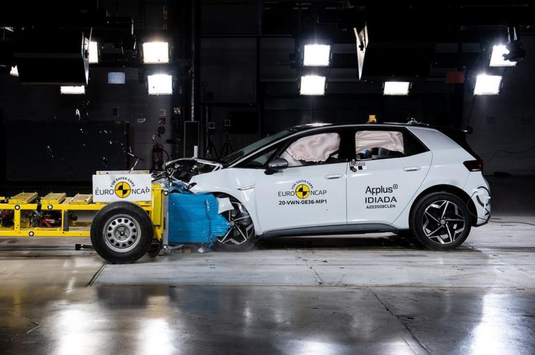 Euro NCAP: Maksimalna ocena za VW ID 3