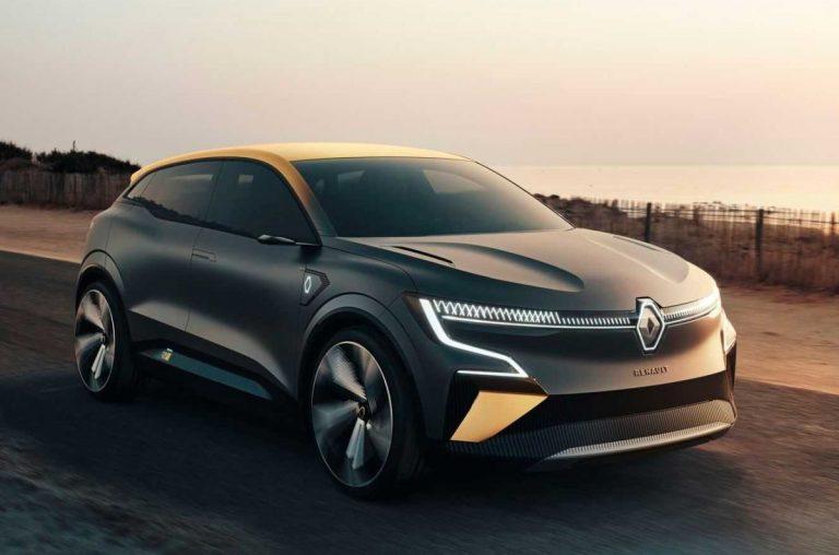 Renault Megane eVision koncept