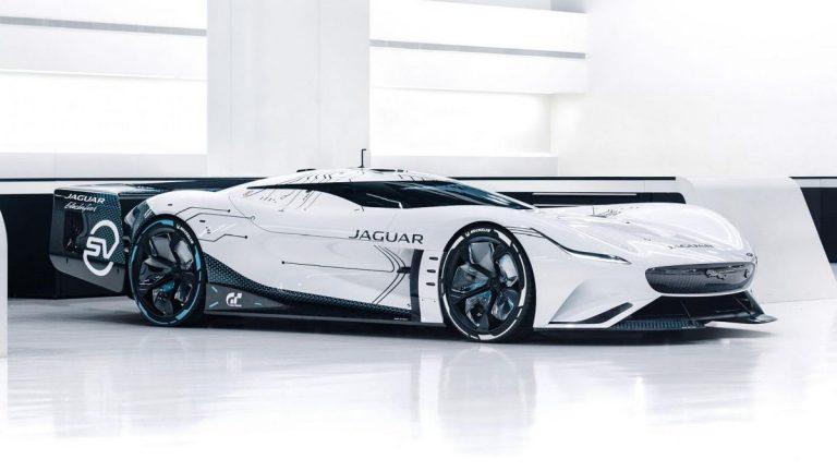 Jaguar Vision Gran Turismo SV koncept