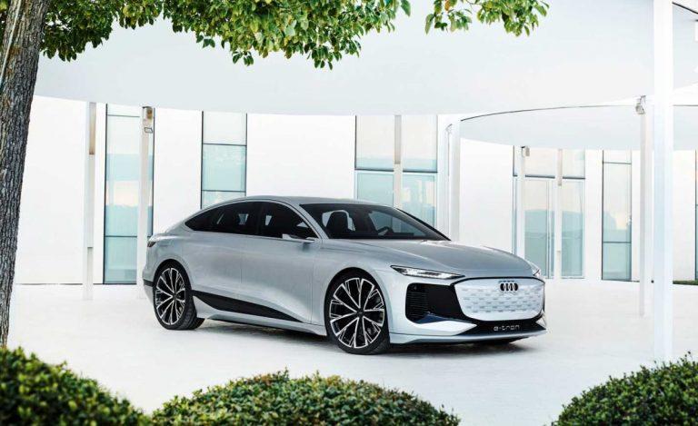 Šangaj: Audi A6 e-tron koncept