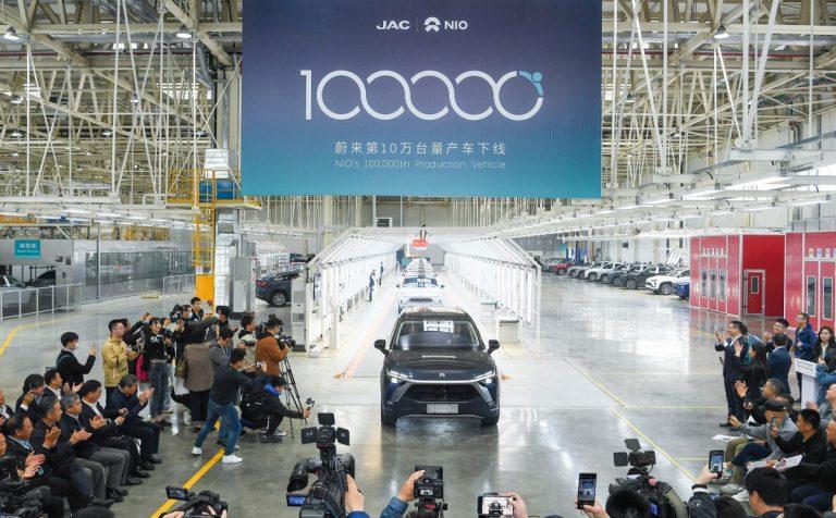 Nio stigao do 100.000 vozila