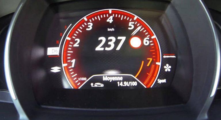 Renault ograničava maksimalnu brzinu na 180km/h