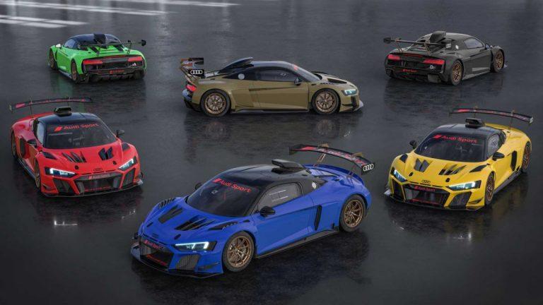 Nove boje za Audi R8 LMS GT2