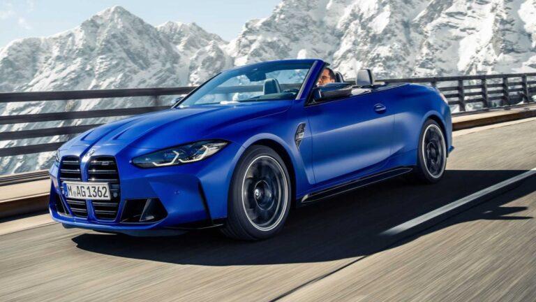 2022 BMW M4 kabriolet
