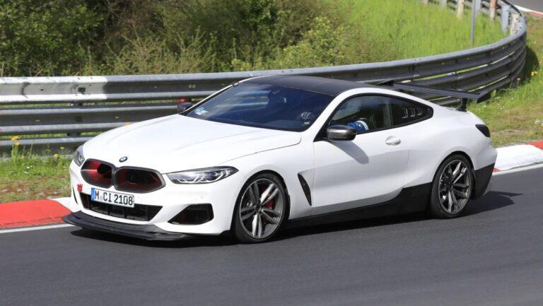 BMW testira pojačani M8