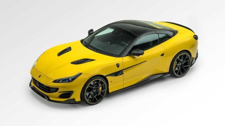 Mansory paket za Ferrari Portofino