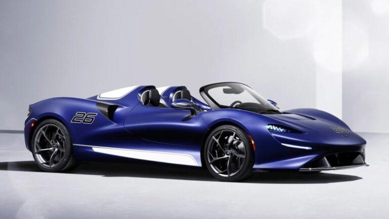 McLaren Elva sa fiksnim vetrobranom