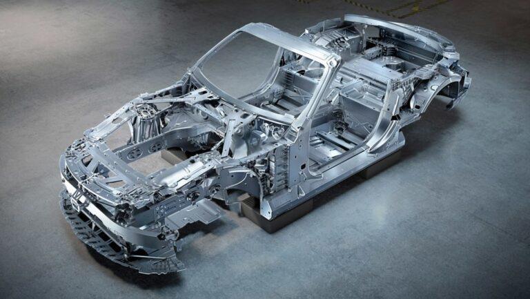 Prikaz arhitekture novog Mercedesa SL