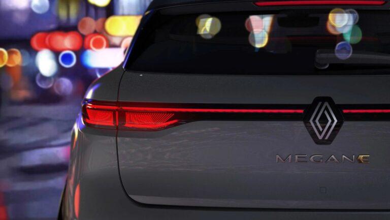 Renault najavio Megane E-Tech Electric