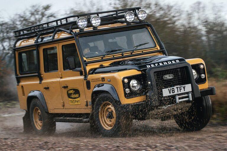 Land Rover Defender Works V8 stiže sa Goodyear pneumaticima