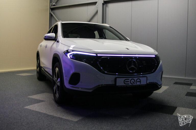 Mercedes predstavio potpuno električni EQA 250