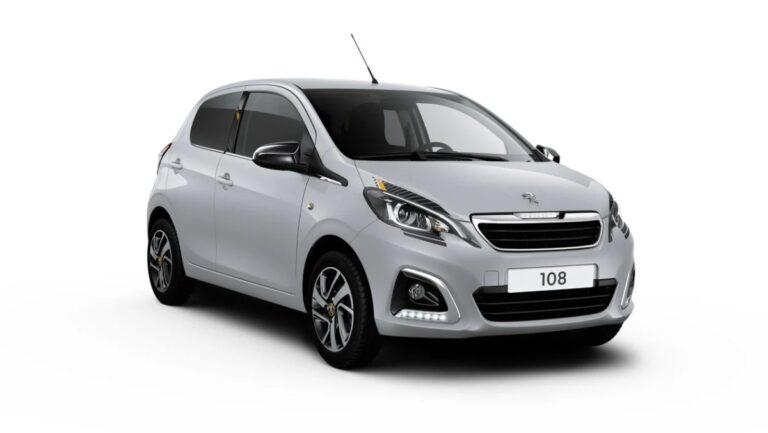 Osvežavanje modela Peugeot 108