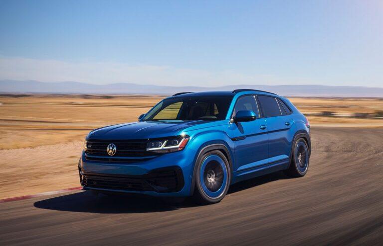 Volkswagen Atlas Cross Sport GT koncept