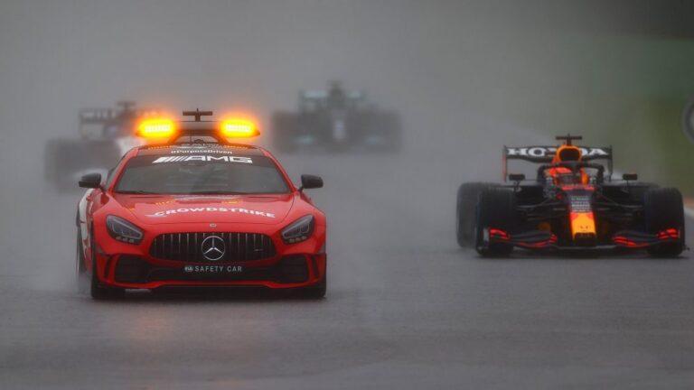 F1: Verštapen proglašen za pobednika VN Belgije koja praktično nije ni vožena