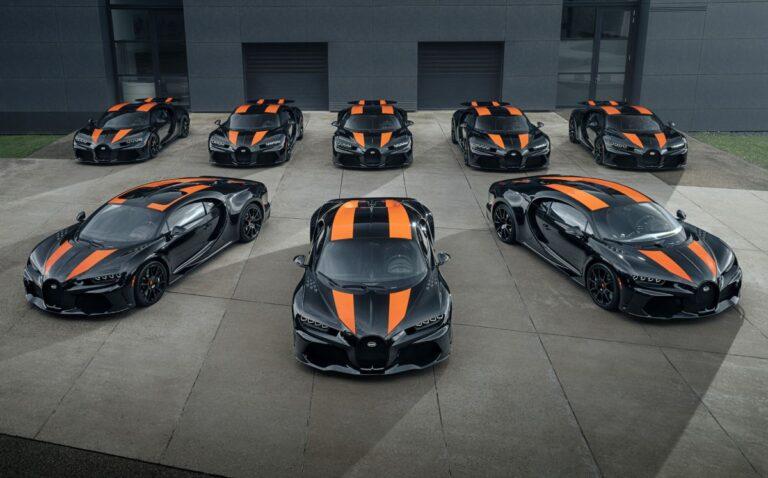Bugatti napravio osam Chirona Super Sport 300+