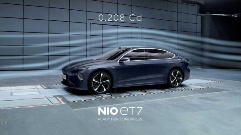 NIO ET7 – koeficijent otpora 0,208