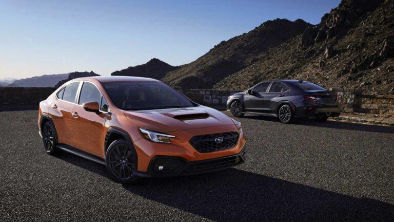 Peta generacija Subarua WRX