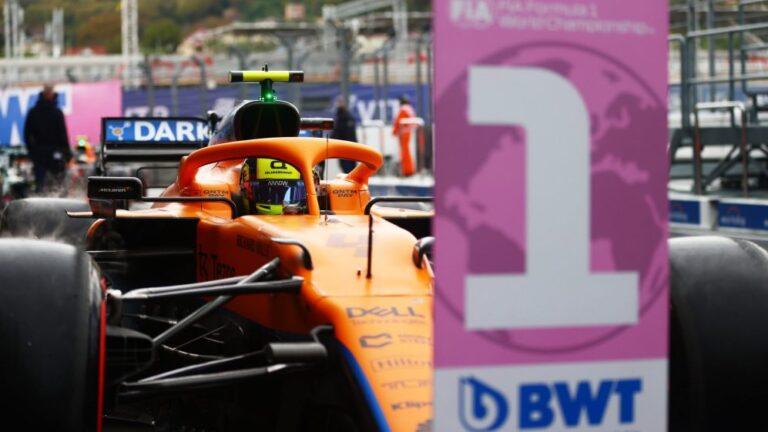 F1: Noris na pol poziciji u Rusiji po prvi put u F1 karijeri